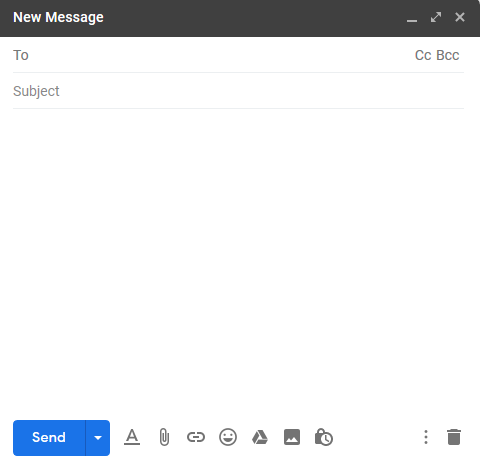 Gmail compose new mail