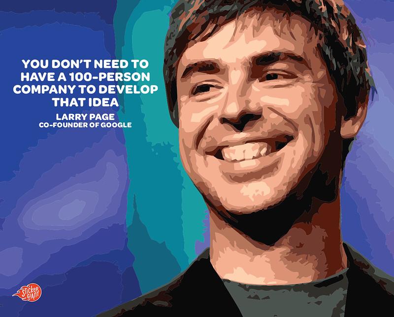 Larry Page - google.com founder