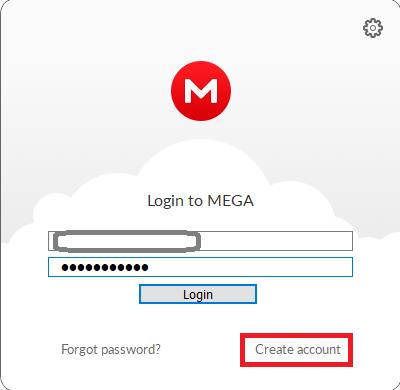 Mega Log In On Desktop Application