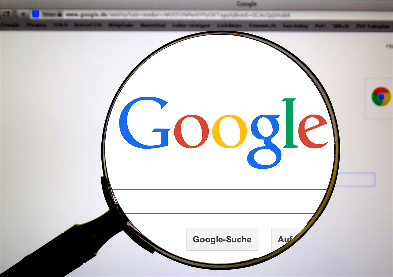 Set up Google as default search engine