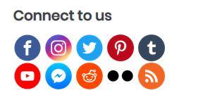 Css Sprites Social Media Accounts