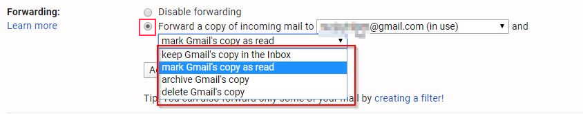 Finally Enable Forwarding On Gmail