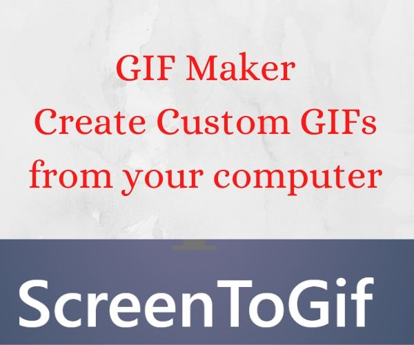 GIF Maker Create Custom GIFs ScreentoGif