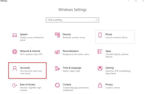Remove Microsoft Account From Windows 10