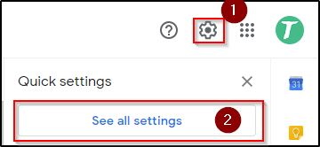 Gmail All Settings