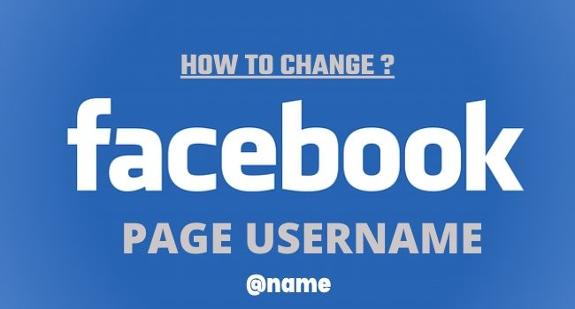 How To Change Facebook Business Page Username