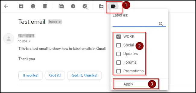 How To Label Emails In Gmail Inbox