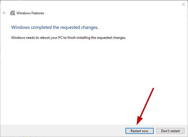 Restart computer to disable Internet Explorer completely