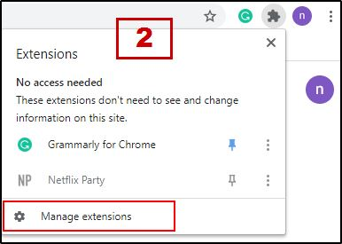 Chrome Extension Page Open 2