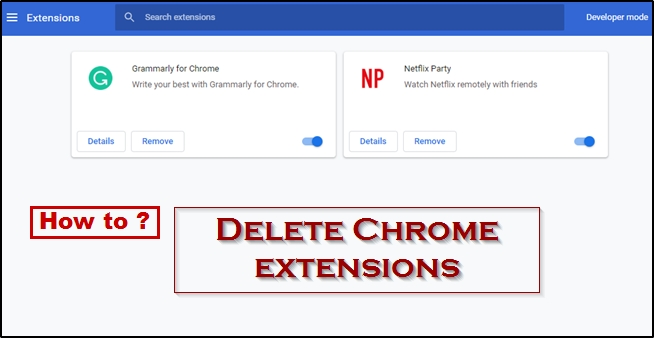 How To Delete Chrome Extensions