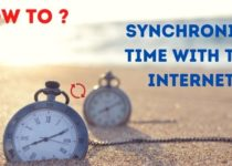 Synchronize time with the Internet
