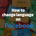 Change Language On Facebook