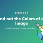 How To Find Colors Of An Image