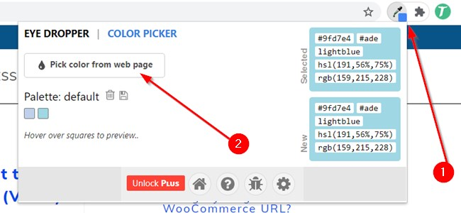 Pick Color From Any Webpage